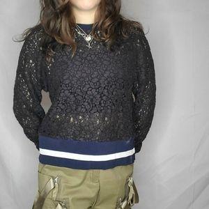2/$25  Zara lace shirt